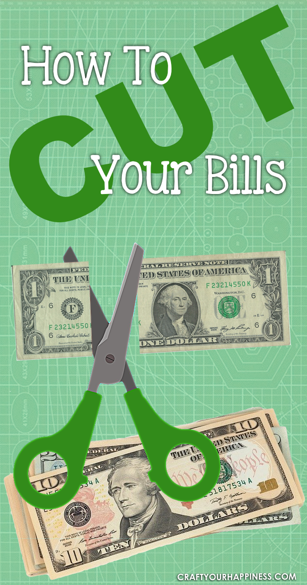 Finding ways to save money is extremely popular these days.  Below is a list of  ways you can cut your bills and save money.
