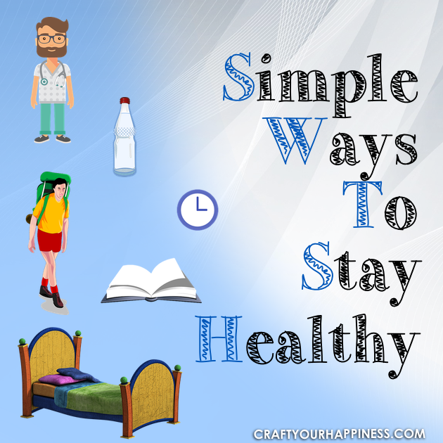 Being unhealthy affects everything in your life. Below are some great tips and links to show you some simple ways to stay healthy and even fix many issues.
