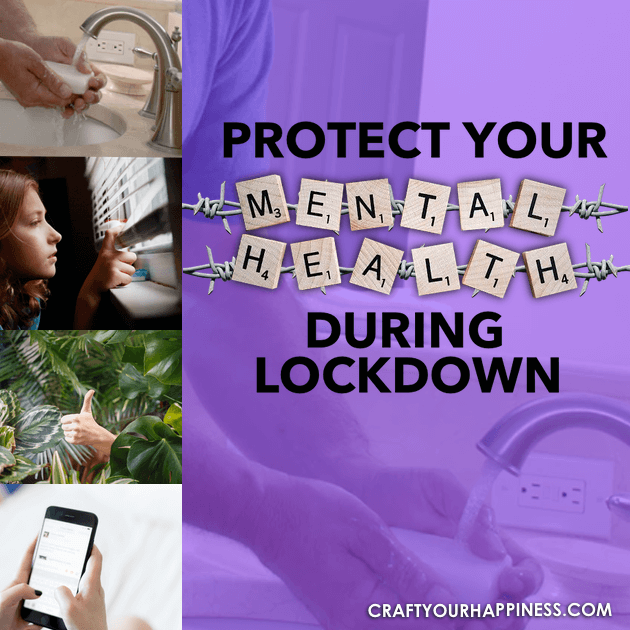 Being forced to stay home can be difficult. Here are some ideas and things to help you maintain your Mental Health During Lockdown.