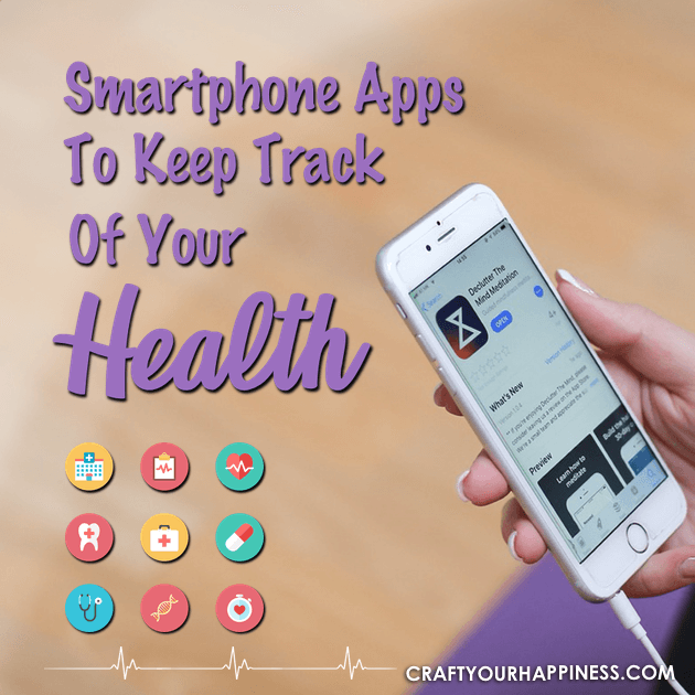 You might be amazed at the numerous apps to keep track of your health that are available. We'll highlight just a few ways you can do just that!