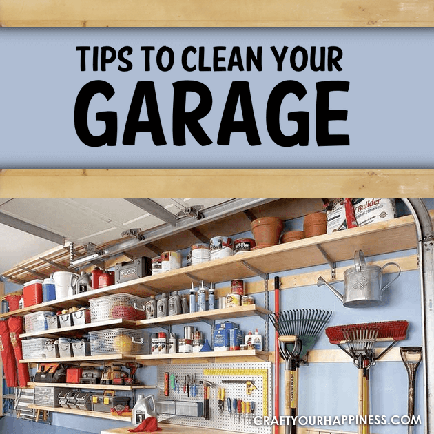 Many times the garage is the last place that gets attention so here are a few tips to clean your garage and keep that area organized.