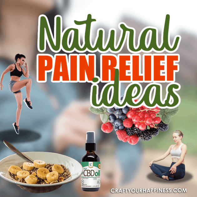 Millions of people suffer from chronic pain. This article gives you some great options for Natural Pain Relief that can help you get your life back.