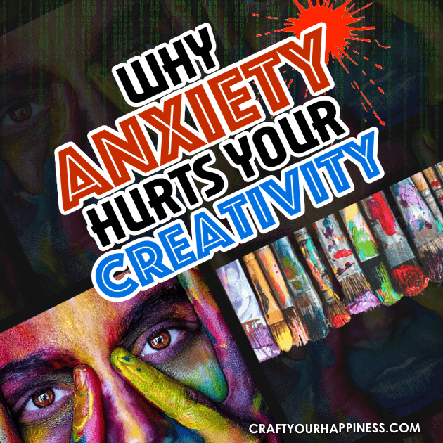 From Sylvia Plath to Vincent Van Gogh and beyond, we hear about 'tortured artists', leading some to think anxiety can help creativity. The truth is it doesn't.