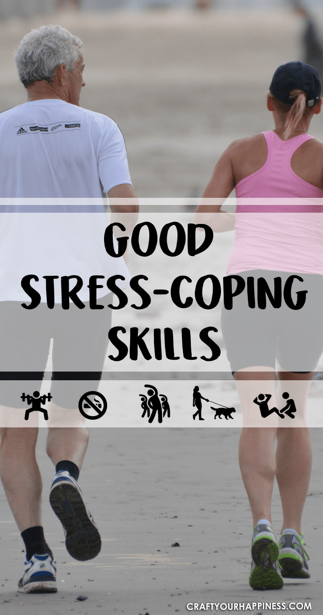 Learn some good stress coping skills during difficult times.