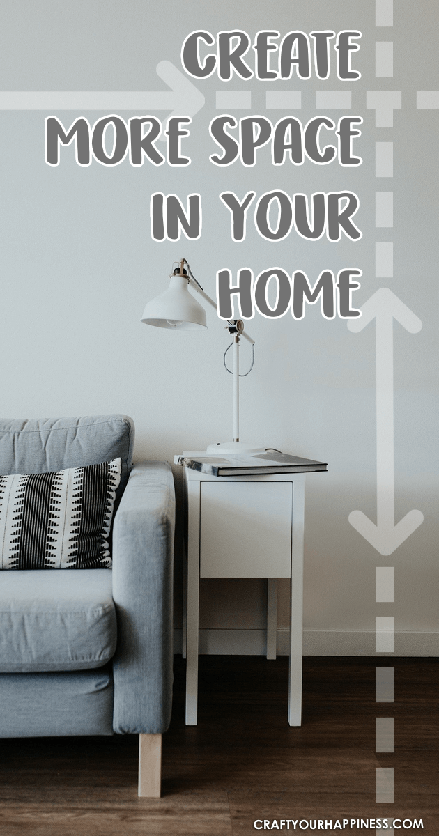 Whether you live in a small apartment or just need some extra space in general,  we've got some great ideas for creating more space in your home.