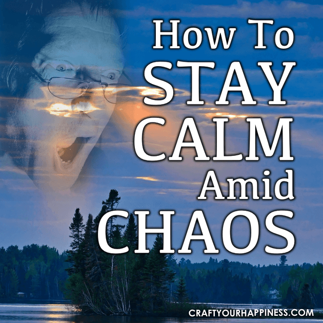 As we all find ourselves living in an increasingly stressful world, maintaining peace can be difficult. Learn how to stay calm amid chaos.