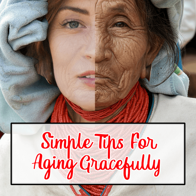 As you get older, what you need to do to stay healthy changes. You needs different things, yet overall aging gracefully is not difficult!
