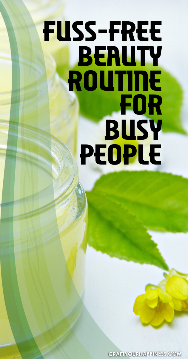 Everyone wants to look good but most of also have a busy schedule. Here is some general basic fuss-free beauty routine for busy people.