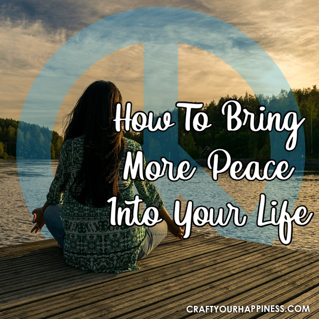 Many people spend their time stressing on how to fit in everything that they need to in their day. Learn how to bring more peace to your life.