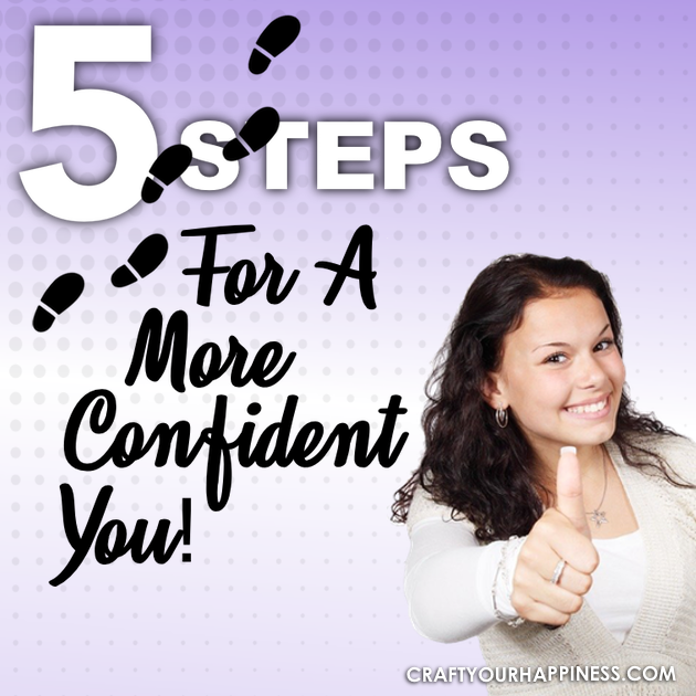 There are many things that can contribute to a great confidence. To help we've got 5 Steps For A More Confident You.