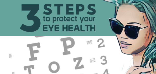 Neglecting your eye health can lead to vision problems, perhaps even avoidable sight loss. Read on to discover three ways to protect your eye health.