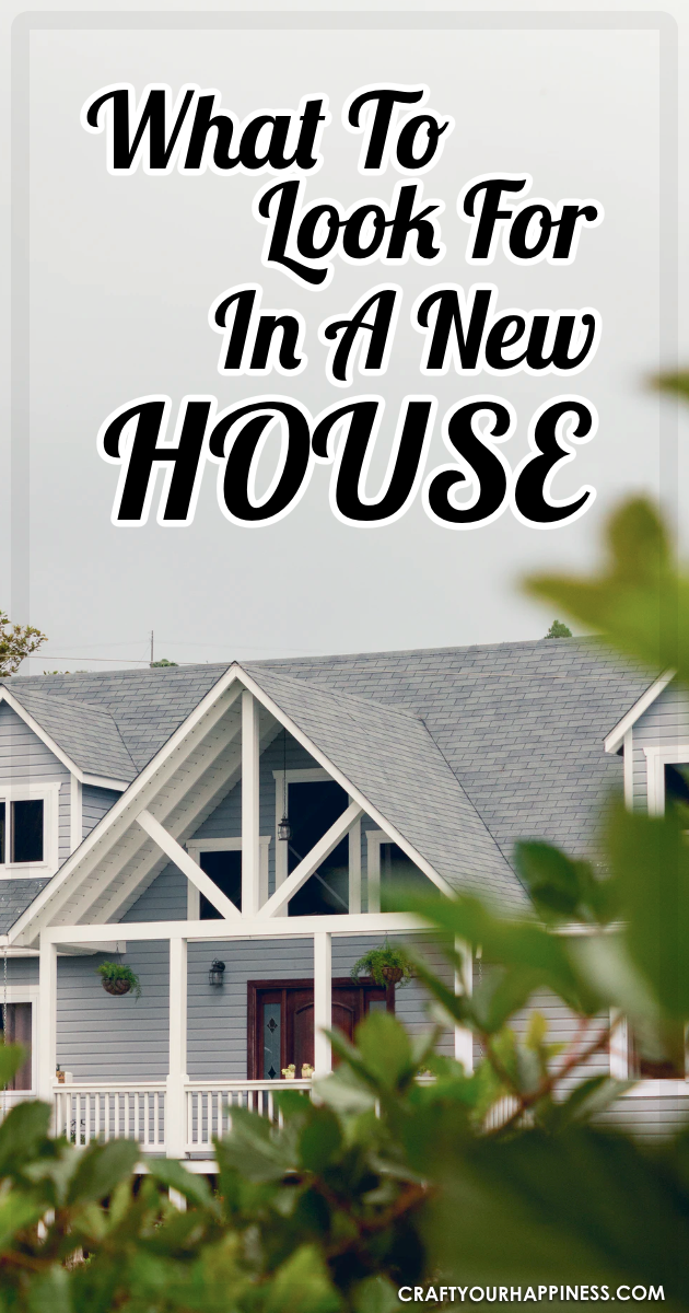 When buying a new house, it's easy to get so excited by the entire process that you forget about the magnitude of the investment itself. This guide has been created to remind prospective house buyers about what they should be looking for in a new house. Read on now in order to learn all about it.