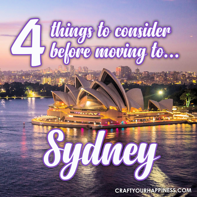 Sydney Australia is famed for its yacht-filled harbor, beautiful beaches, and the world-famous Opera House. Who wouldn't want to move there?