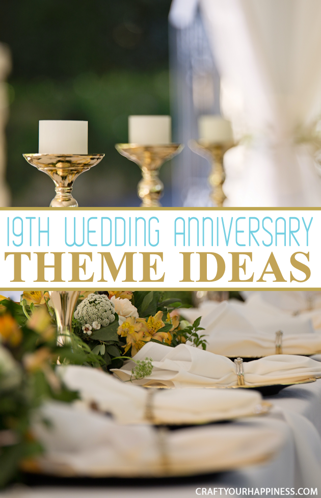 If you wish to make your spouse as happy as possible and shower them with the perfect gift for your 19th wedding anniversary, here are some inspiring ideas!