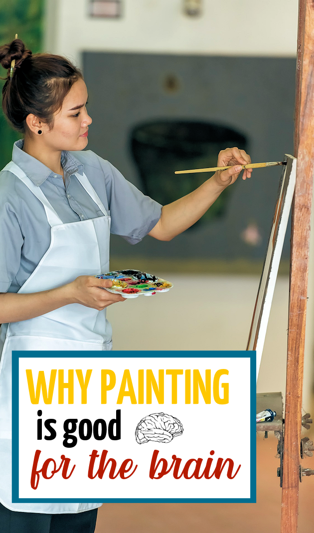 Painting is a pastime that not only sparks pleasure but also leaves artists refreshed and reenergized. Learn why its good for the brain!