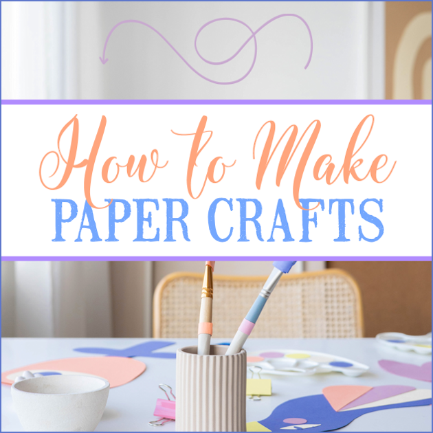 If you haven't gotten on the paper crafts train yet, there's never been a better time to learn! So many different craft designs, types of paper and tools are available that you're almost guaranteed never to get bored with the fascinating world of paper crafts.