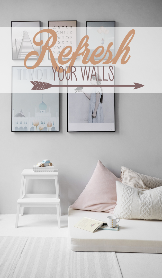 The walls in your home should reflect you. If you'd like to refresh your walls we've got some great ideas for you!